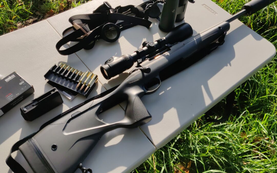 Deer Stalking – Zeroing My Rifle