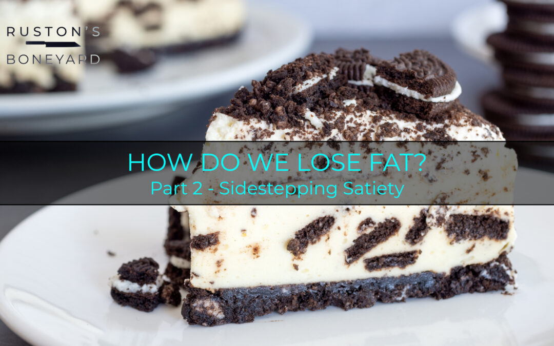 How do we lose fat? Part 2: Sidestepping Satiety
